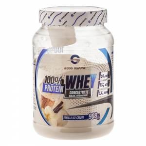 Good Supps - 100% Whey Protein, ванильное мороженное (908г)