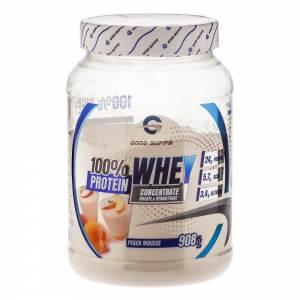 Good Supps - 100% Whey Protein, персиковый мусс (908г)