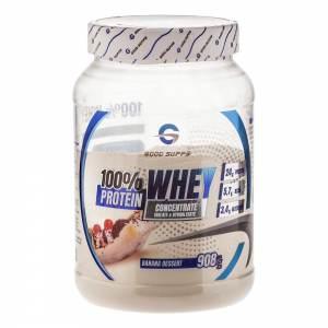 Good Supps - 100% Whey Protein, банановый десерт (908г)
