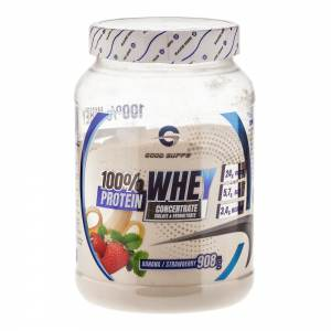 Good Supps - 100% Whey Protein, банан-земляника (908г)