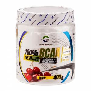 Good Supps - 100% Instantized BCAA 2:1:1 вишня (400г)
