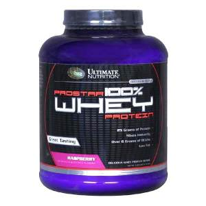 Ultimate Prostar 100% Whey Protein  клубника (2390 гр)