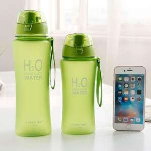 Бутылка H2O зелёная (650мл)
