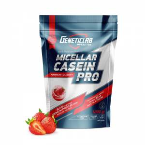 GENETIC LAB - CASEIN PRO клубника (1 Кг)