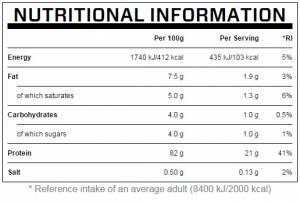 IMPACT WHEY PROTEIN Чай с молоком (1Кг)